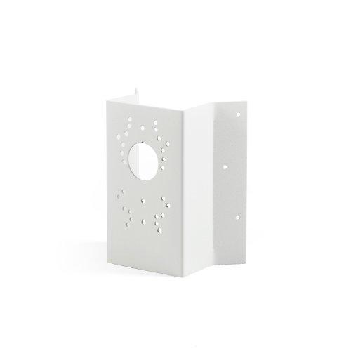 Konstsmide Eckbefestigung 448-250 / B: 11cm T: 5cm H: 19cm / / lackiertes Aluminium / matt-weiß