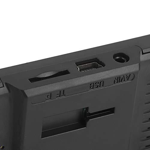 Fishawk Grabador de conducción, cámara de salpicadero automática, grabadora de vídeo automática con Lente de 3 vías, cámara de salpicadero de Marcha atrás de Pantalla Completa, para el hogar Coche