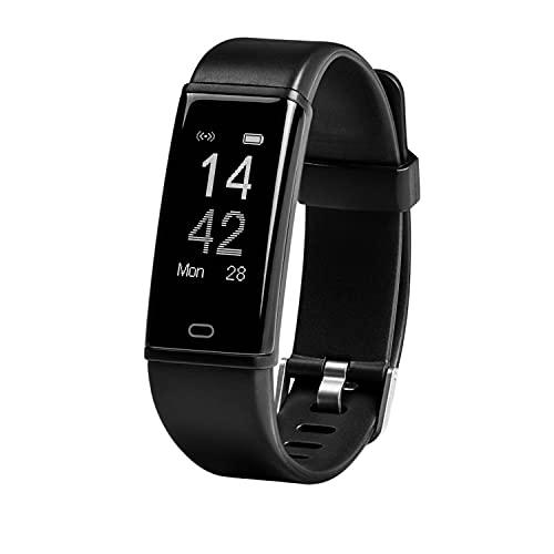 MEDION Fitnessarmband mit Pulsmesser S2500 (OLED Display, Herzfrequenz, Wasserdicht IP67, Schrittzähler, Schlaftracker, Kalorienverbrauch)