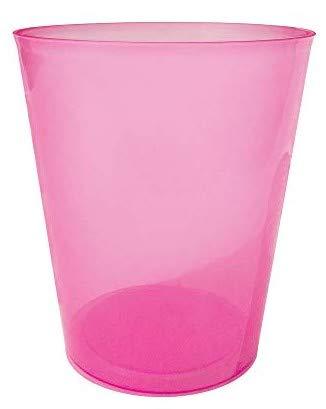 TELEVASO - 75 uds - Vaso Sidra 480 ml Reutilizable Ligero - Polipropileno (PP) - Color Rosa - Vaso ecológico Libre de BPA, Ideal para Cerveza, cubatas, Agua