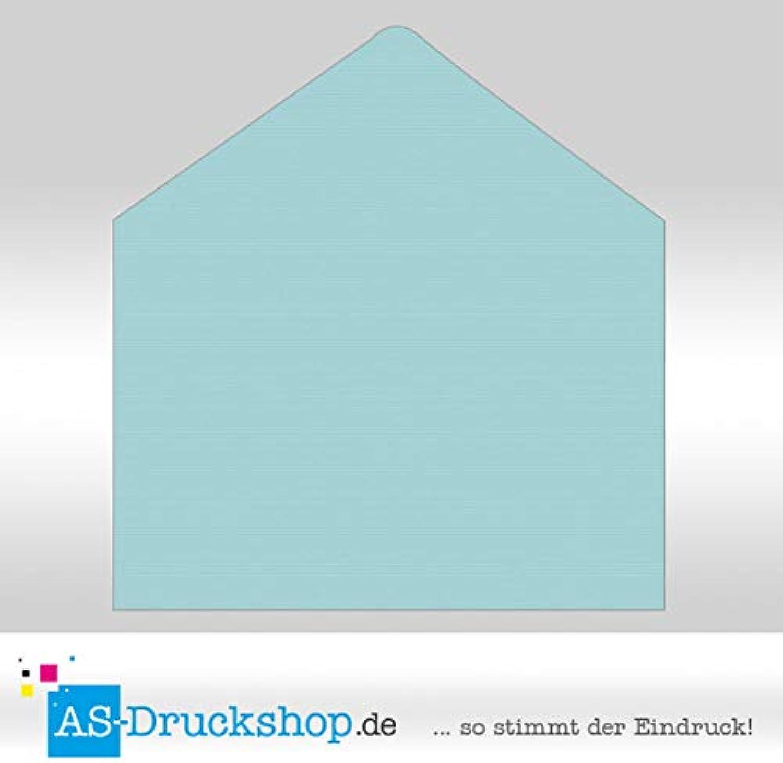 Briefumschlag KuGrün - Türkis - - - mit Seidenfutter DIN C5   50 Stück B0794X3RQZ   Erste Qualität  d9528e