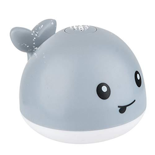 NUOBESTY Baby Bad Spielzeug Elektrische Wasserspray Spielzeug Wal Spielzeug Badewanne Spielzeug Wasserspielzeug für Kleinkinder Kinder Kinder (Keine Batterie)
