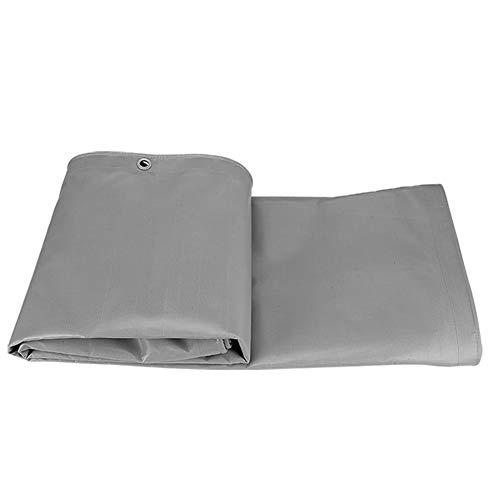 FQJYNLY-Tarpaulin Anti-fog Anti-oxidation Lawn Farm Grommet, Cloth, 15 Sizes (Color : Gray, Size : 5x6m)