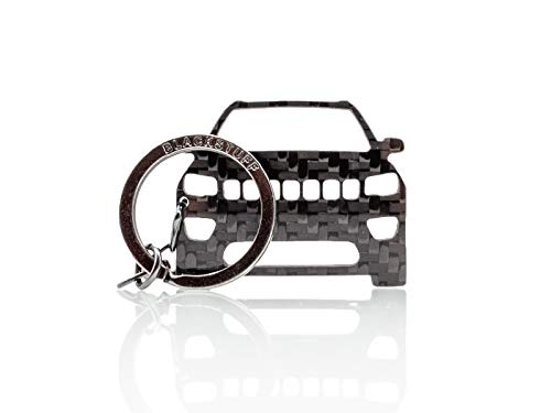 BlackStuff Portachiavi in Fibra di Carbonio Compatibile con Compass 2016-2020 BS-989