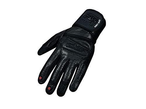 Elite Leather Gym Gloves
