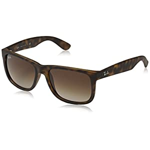 Fashion Shopping Ray-Ban RB4165 Justin Rectangular Sunglasses