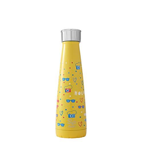S'ip by S'well Gourde isotherme en acier inoxydable 450 ml S'ip by S'well Bouteille d'eau isotherme 450 ml 450ml Vacances quotidiennes.