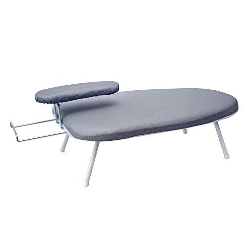 AKOZLIN Travel Ironing Board 23.6' L x 14''W x 7''H Table for Ironing Clothes Tabletop Ironing Board...