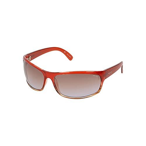 Police S0353949 Gafas de Sol S1863M710ACN para Unisex Adultos, Rojo