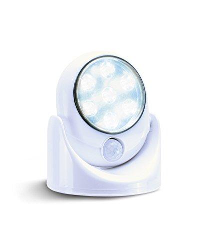 LED Nachtlicht Bewegungsmelder Batterie   LED Sensor Licht Bewegungsmelder innen & aussen   LED Leuchte mit Bewegungsmelder   Dämmerungsautomatik