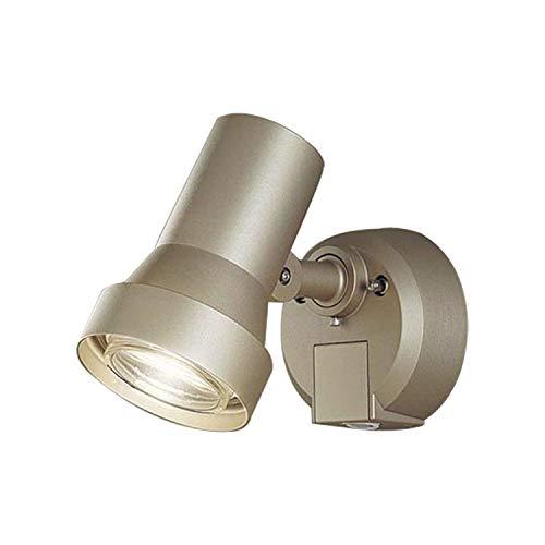 壁直付型 LED(電球色) スポットライト・勝手口灯 照射面中心60形電球1灯相当 防雨型・FreePa・フラッシュ・ON/OFF型(連続点灯可能)・明るさセンサ付 パネル付型 白熱電球50形1灯器具相当 LGWC45030YZ