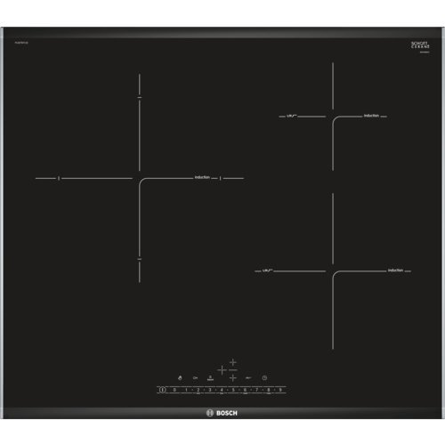Bosch PIJ675FC1E - Piastra a induzione, serie 6, 60 cm, zona 28 cm premium