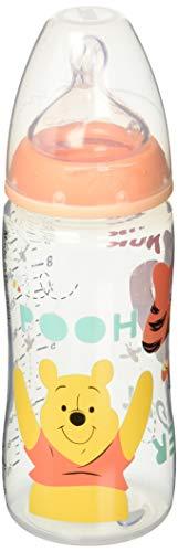 NUK ヌーク プレミアムチョイスほ乳びん くまのプーさん 300ml オレンジ ディズニー ほ乳瓶 哺乳瓶 ほにゅう瓶 ほにゅうびん FDNK40742326 300 0か月~ ポリプロピレン製