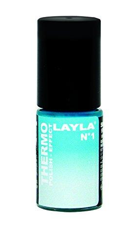 Layla Cosmetics Thermo Polish Effect N.1 Nagellack,