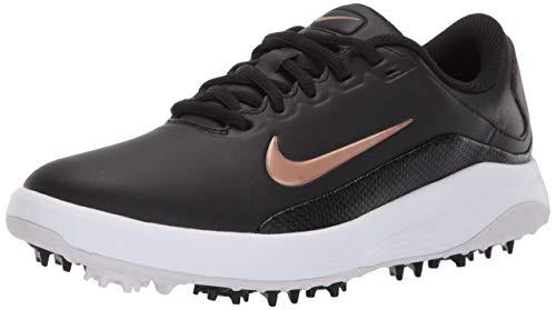 Nike Women's Vapor Sneaker, Black/Metallic red/Bronze - White, 6.5 Regular US