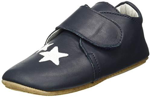 Däumling Unisex Baby Lilli - Barfuß Sneaker, Bio Nappa Ozean, 23 EU