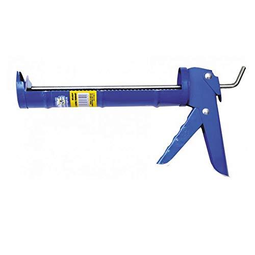 Pistola Silicona Estandar con cremallera | Aplicador de adhesivos y selladores | Medida 9' - 225 mm