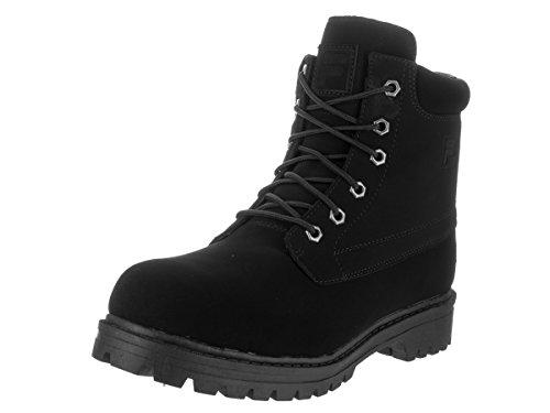Fila Men's Edgewater 12 Boots Black/Black 11.5
