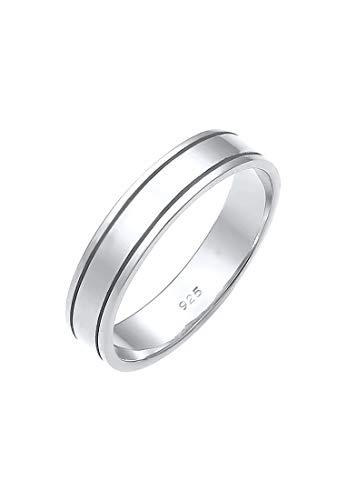 Elli PREMIUM Anillos Anillo de boda para damas en plata esterlina 925
