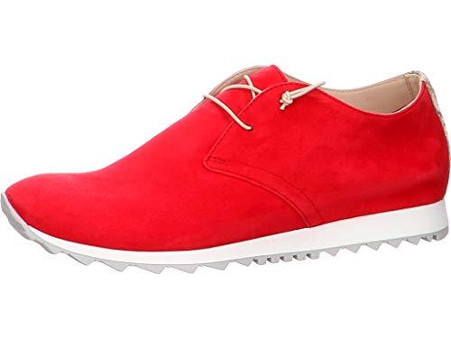 Donna Carolina Damen Schnürschuh in Silk Rosso Größe 40 EU Rot (rot)