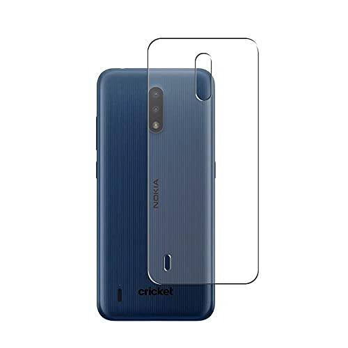 Vaxson 2 Unidades Protector de pantalla Posterior, compatible con Nokia C2 Tava [No Vidrio Templado] TPU Película Protectora Espalda Skin Cover