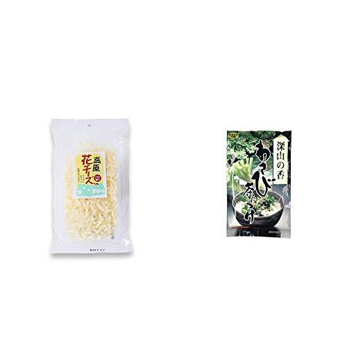 [2点セット] 高原の花チーズ(56g)・特選茶漬け 深山の香 わさび茶づけ(10袋入)