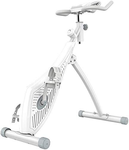 Fitness-Bike mit Magnetsteuerung, Heimtrainer, Spinning-Fahrrad, klassisch, faltbar, klein, aufrecht, Heimtrainer