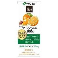 伊藤園 ビタミンフルーツ オレンジMix 100% 200ml紙パック×24本入×(2ケース)