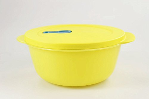 TUPPERWARE Mikrowelle CrystalWave 1,5 L gelb Mikro Micro Wave Pop Plus Fix 15524