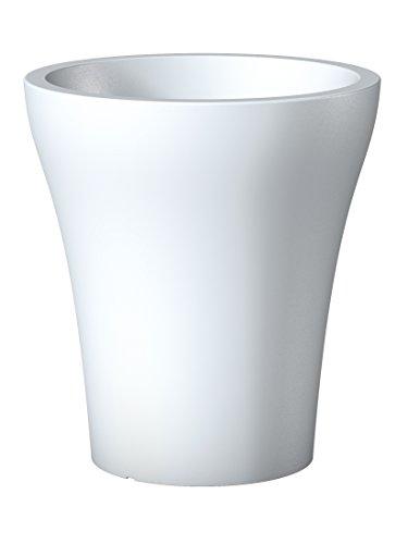 Scheurich 55456 264/32 No1 Style High Pot de Fleurs Plastique Pure White 29 x 29 x 32 cm