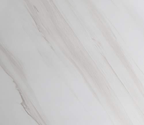 Awnic Fensterbank Folie Marmor Selbstklebend Möbel Folie Küchenfronten Tischfolie Marmor Klebefolie für Küchenschränke Dekorfolie Wasserfest 40 x 300cm