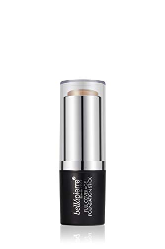 Bellapierre Cosmetics Full Coverage Foundation Stick, Couleur Medium - 10 g
