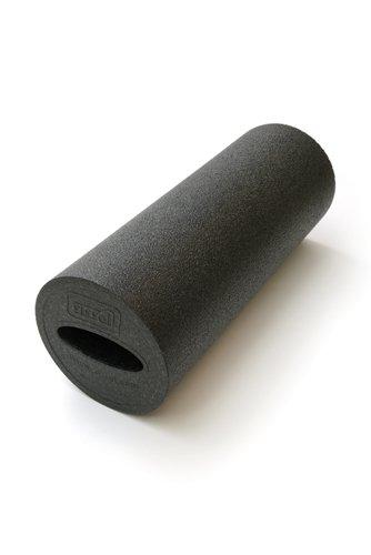 SISSEL Myofascia Roller, Faszienroller mit Griffmulde 40 cm - schwarz
