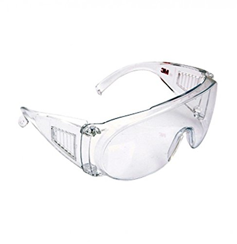 3M 3M-1611 Eye Protection Glasses with Clear Lens,Transparent