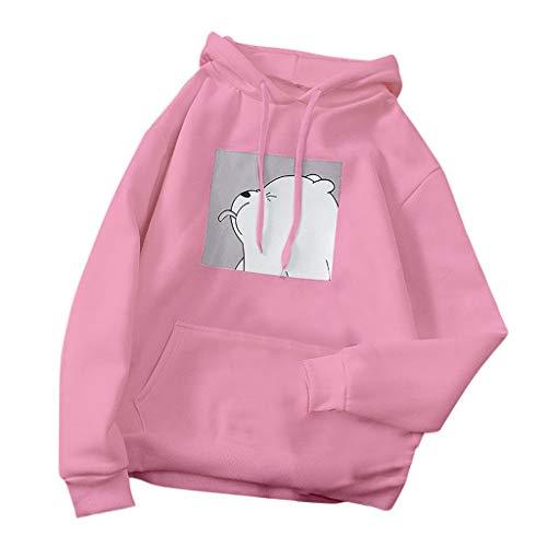 Women's Hoodies Long Sleeve Shirt Casual Graphic Tee Shirt Fall Clothes for Women Tops Blouse