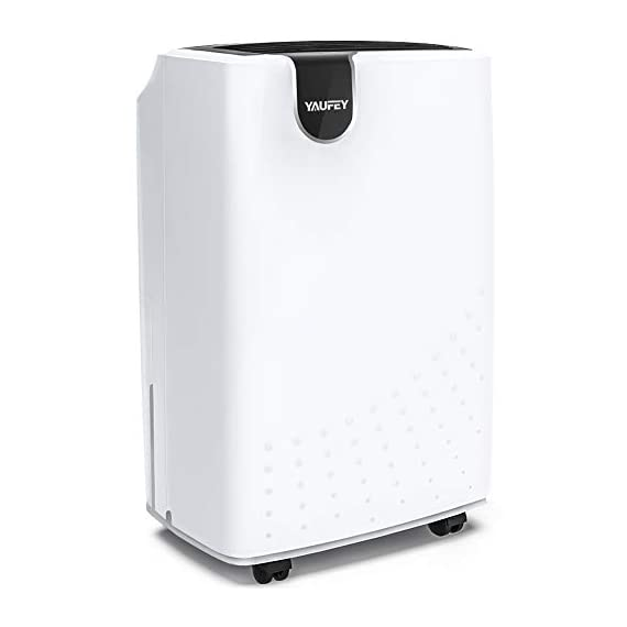 Yaufey 1500 sq. Ft dehumidifiers for home and basements, with continuous or manual drainage, intelligent control quietly… 1 professional and efficient dehumidification- with removal capacity of up to remove up to 32. 7 pints (under 95°f, 90%rh condition) of moisture per day. (please note: under 95°f, 90%rh condition, the max dehumidification capacity up to 32. 7 pints), it is an energy-efficient dehumidifier which is suitable for basement, home, bathroom, bedroom, garage, and other indoor spaces up to 1500 sq. Ft. Convenient and simple to use. Home appliances never need to be complicated, so our dehumidifier isn't. It features a light-touch intelligent control panel, which let you see the operating settings at a glance. Adjust to your ideal moisture setting, then let it run its continuous 24-hour cycle until the 1. 8l tank is full, at which point it will automatically shut-off. Tired of manual drainage? There's also a drain hose outlet for continuous draining. The 2-meter long drain hose is included. Multiple humanized features. You can select between regular and turbo fan speeds for optimal comfort. The low-noise design will get you far away from the disturbing noise when sleeping or studying. The removable and washable filter means easy maintenance — simply clean it regularly and then recycle. Program the 24-hour timer to suit your lifestyle and save energy costs. All of them can ensure you to have the best possible experience with our dehumidifier.