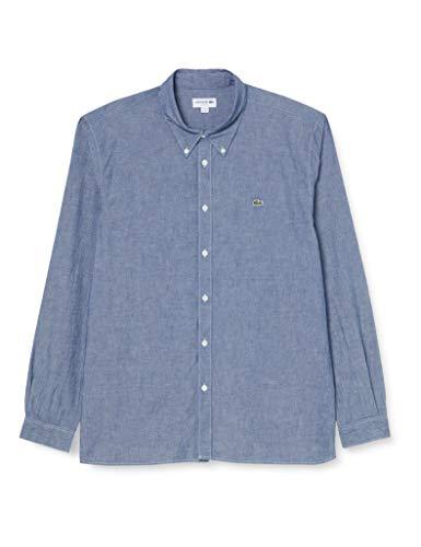 Lacoste Herren CH2967 Klassisches Hemd, Deep Medium, S