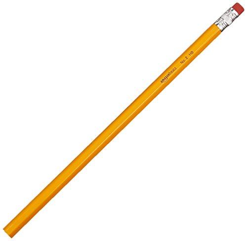 AmazonBasics Wood-cased Bulk Pencils - #2 HB Pencil - Box of 96