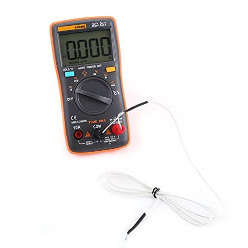 6000 conteggi Volt Ohm Meter Voltmetro Multimetro AC DC con termocoppia TP01K per l ispezione del computer per l ingegneria