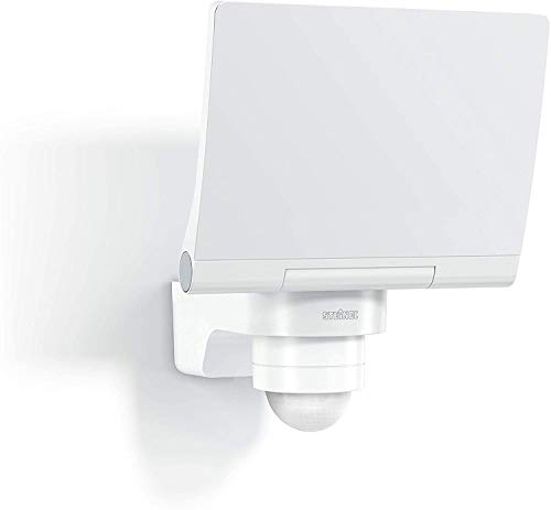 Steinel LED Strahler XLED PRO 240 V2 Weiß, 20 W Flutlicht, 240° Bewegungsmelder, 3000K warmweiß, inkl. Eckwandhalter