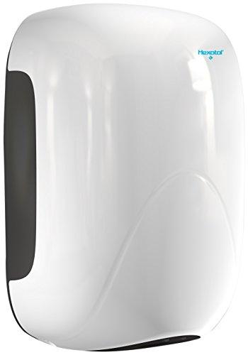 HEXOTOL A205minidry–Asciugatore Mani plastica Bianco 15,6x 10x 23,8cm