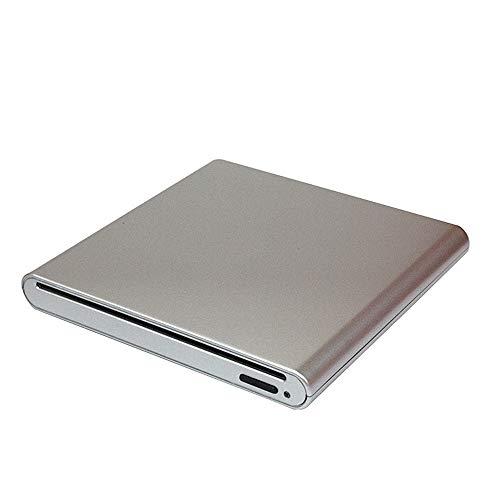 Dasing External CD DVD Drive DVD Player USB 3.0 Suction Type Optical Drive for Laptop Desktop PC Window 10 8 7 XP