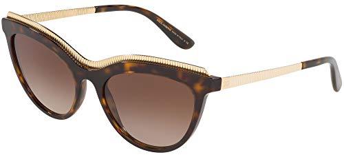 Dolce & Gabbana 0DG4335 Gafas de Sol, Havana, 54 para Mujer