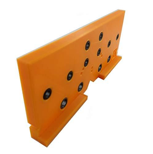 Livindo Flex.One Plus Flexible Kombinierte Bohrschablone Ankörnschablone Bohrlehre Lochreihe Kreuz-Montageplatten Scharniere Korpusverbindungen