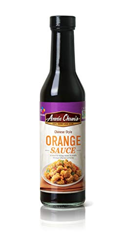 Annie Chun's Orange Sauce, Chinese-Style, Non-Gmo, Gluten-Free, 10.8oz (Pack Of 6), Sweet & Tangy Flavor, 6Count