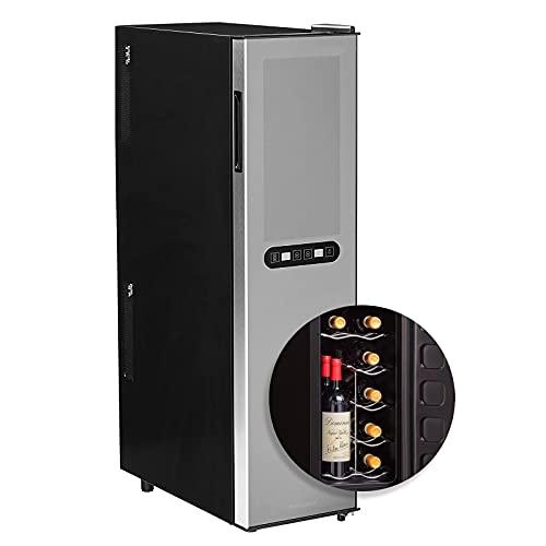 Wine Enthusiast Silent 18 Bottle Wine Refrigerator -...