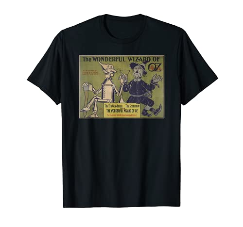 Vintage espantapájaros & Tin-Man Mago de OZ Camisas-Tierra de Oz Camiseta