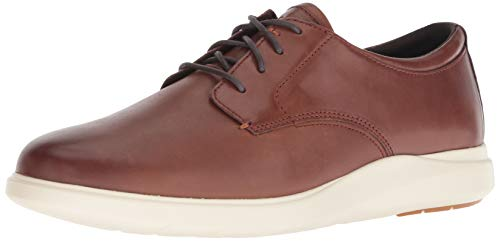 Cole Haan Men's Grand Plus Essex Wedge Oxford, Light Coffee/Ivory, 8.5 M US