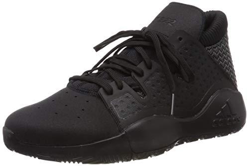 adidas Herren Pro Vision Basketballschuhe, Schwarz (Negro 000), 48 2/3 EU
