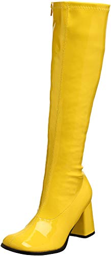 Pleaser Gogo300/yl, Damen Stiefel, Gelb (Yellow), 42 EU